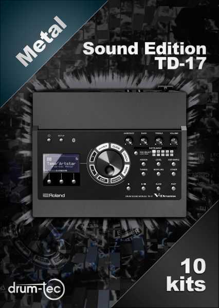 Metal Sound Edition Roland TD-17