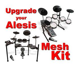 Alesis mesh head upgrade | Peaux