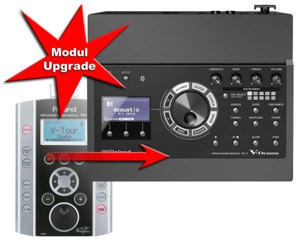 Modul Upgrade Roland TD-9 zu Roland TD-17